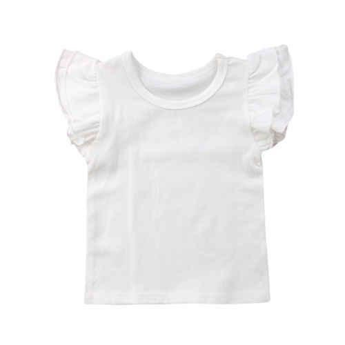 2019 nuevo bebé niñas niño mangas voladoras Tops Bodysuit trajes chico 0-4 T