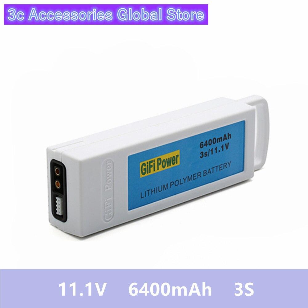 1 pièces 11.1 V 6400 mAh 3 S batterie au Lithium Rechargeable batterie Rechargeable pour yunece Q500 Q500 RC quadrirotor