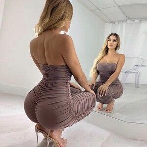Image 3 - Newasia vestido longo sem ombro para festa, vestido feminino sexy para festa, verão 2019, slim