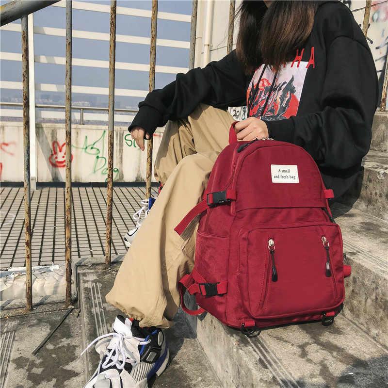 Mochila de nailon para mujer, mochila de Turismo, mochila para mujer, mochilas escolares para mujer, bolsos de moda para mujer