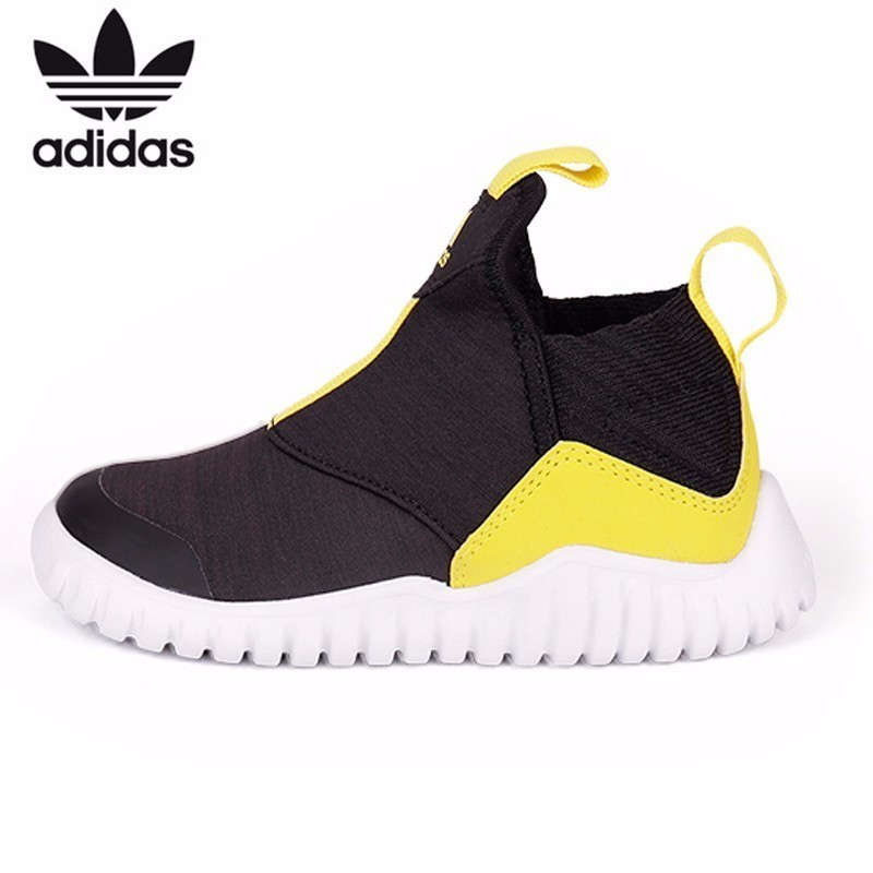 Adidas Kids Sneakers Autumn And Winter Boy And Girl New Pattern Sneakers  Running Shoes AH2536 ac7bc90d49be
