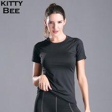 Jersey Women Sport Top Fitness Yoga Shirt Quick Dry Training Running T-shirt XXL Jogging Workout Sportswear
