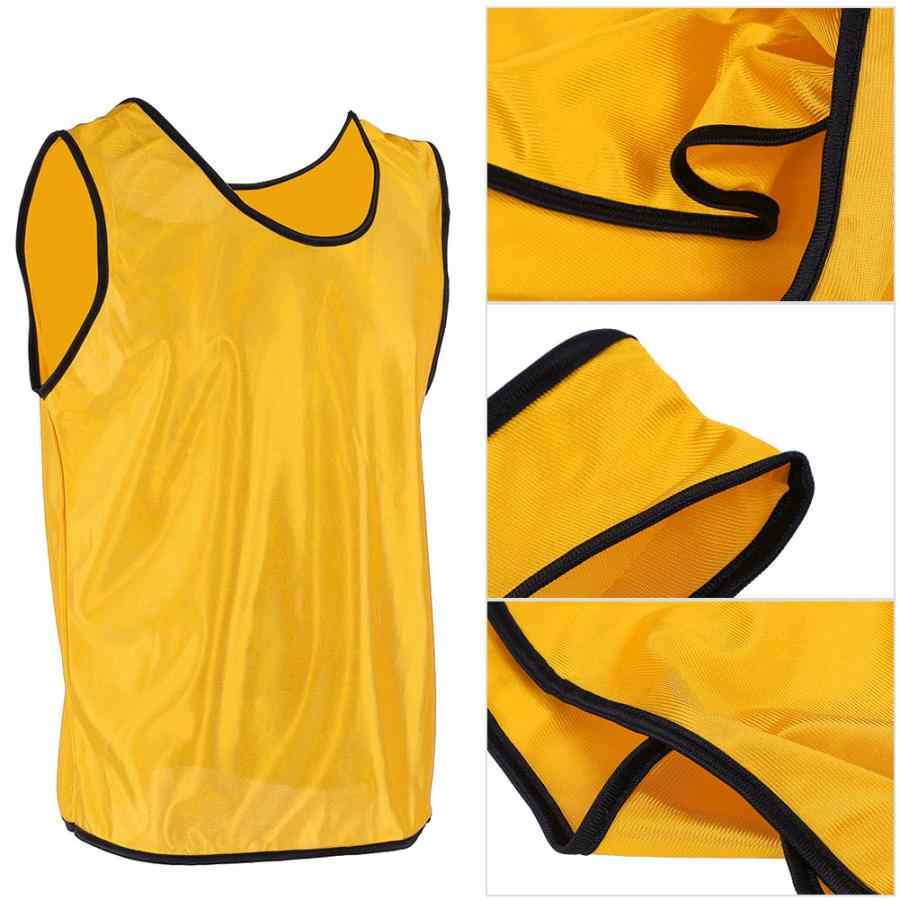 huge discount 5e211 785dc 12pcs/Lot Adult Sleeveless Soccer Jerseys Football Group Fight Vest  Training Printing Soccer Jersey For Team Shirts Grouping Shi