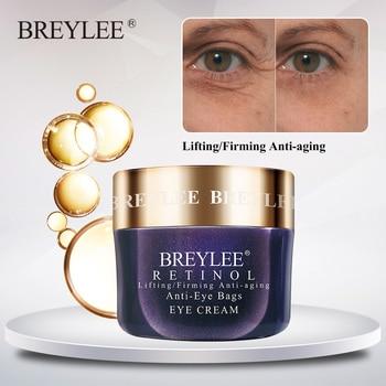 Breylee Retinol Eye Cream Lifting Firming Anti-aging Eyes Care Anti Wrinkle Anti-eye Bags Ageless Nourishing Whitening Serum