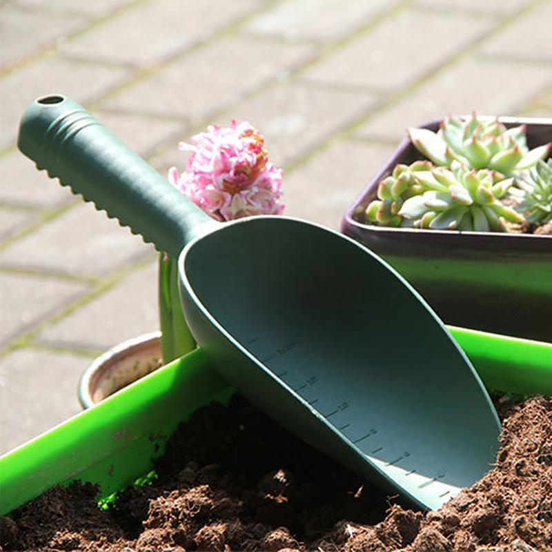 Home Gardening Tools Plastic Soil Shovel Plant Soil Shovels Flowers And Vegetable Planting Soil Shoveling Scarification Weeding