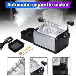 New 220 V Elettrico Automatico Fare Rolling Macchina Sigaretta di Tabacco Roller Maker Iniettare 8 millimetri Tubo di Fumo Portatile Strumento