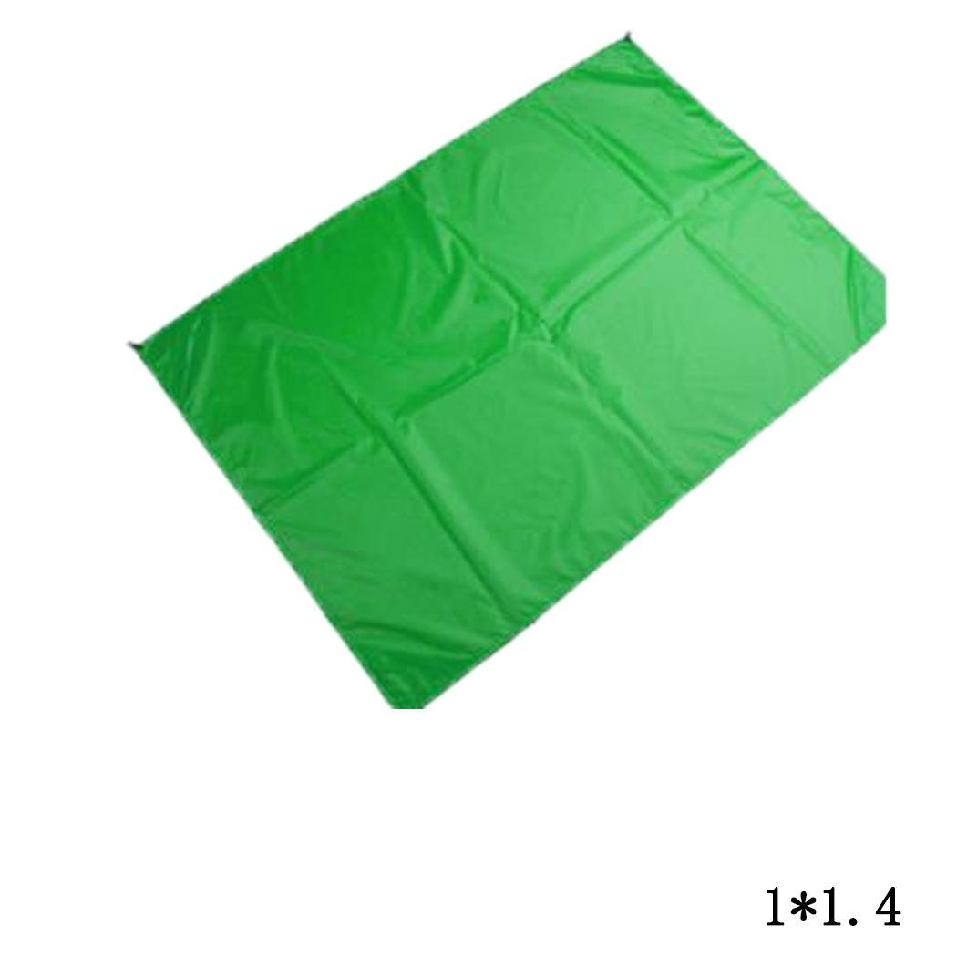 Waterproof Outdoor Beach Blanket Compact Pocket Picnic Drawstring Casual, Travel, Outdoor, etc Mat Solid