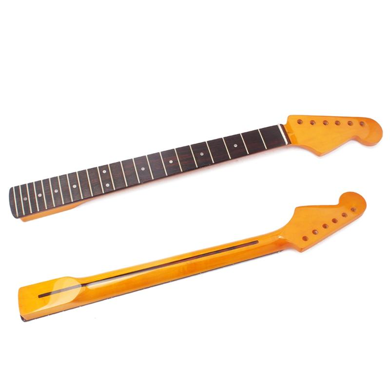 22 Fret Right Hand Replacement Maple Neck Rosewood Fingerboard for ST Electric Guitar Accessory