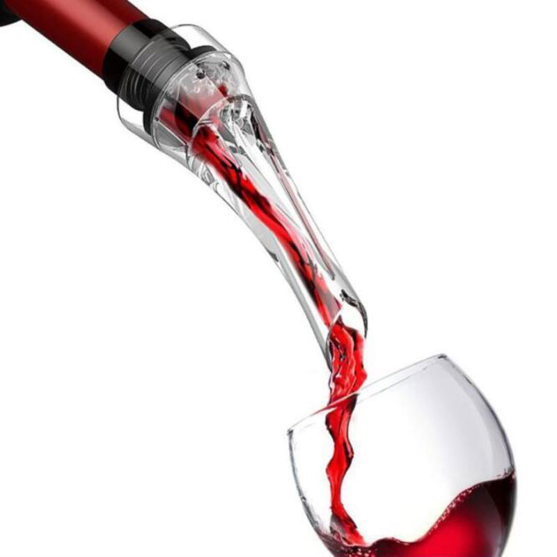 Pourer Decanter Kitchen-Bar-Tool Spout Quick-Aerating Acrylic-Making Mouth-Shape Design