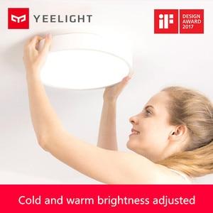 Image 5 - Youpin Yeelight Led lampa sufitowa wersja dla dzieci Bluetooth sterowanie przez Wifi Ip60 pyłoszczelna lampa sufitowa inteligentna dioda led lampy sufitowe