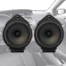 2 шт. 6,5 дюйма автомобильные передние и задние двери Динамик адаптер кронштейны для CHEVROLET BUICK Крепление Адаптер накладки, скобы Стенд Крышка кольца