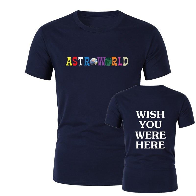 Travis Scott Astroworld GOV BALL NYC 2019 t shirt fashion streetwear Mens and Womens Cotton tshirt print letter Shirt S 2XL in T Shirts from Men 39 s Clothing