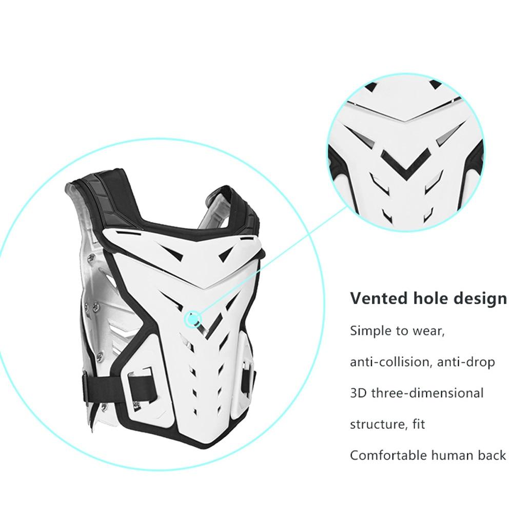 Fantôme course moto vestes moto armure Motocross tout-terrain course sécurité équipement de protection poitrine protecteur soutien arrière - 6