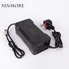 XINMORE 42 В в 5A 4A 3A зарядное устройство для В 36 В 5A литиевая батарея электрический велосипед мощность Электрический инструмент Cargador Pilas