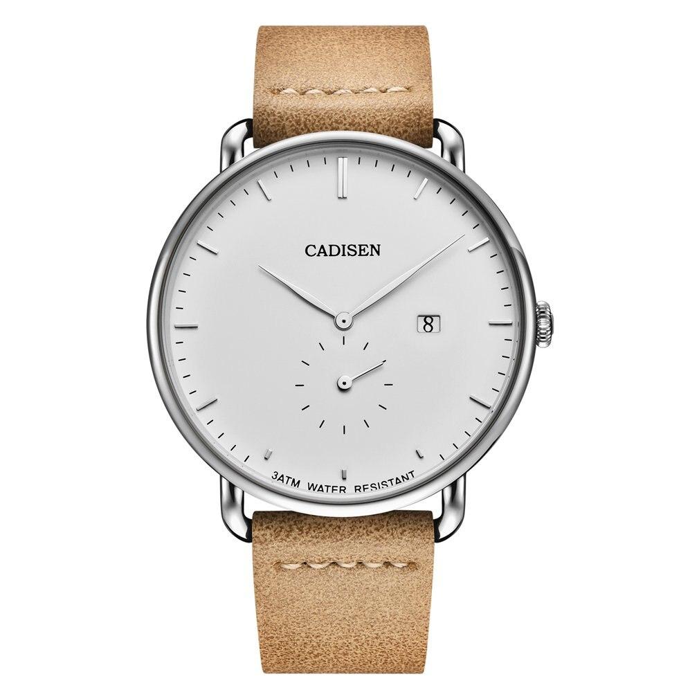 Multi-functional Watch For Men Luminous Waterproof Quartz Watches C2037 Cadisen Watches For Best Presents Men Business Watch