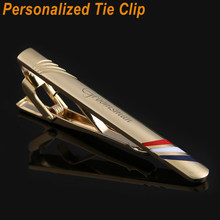 753a23f2009c Personalized Custom Gold Tie Bar Wedding Favor Mens Tie clip Men Jewelry  Engraved Tie Pin Clasp Tie Clamp Father Christmas Gifts