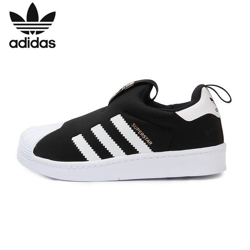 Adidas Superstar Bambini Originali Traspirante Runningg Scarpe Bambini Luce Confortevole scarpe Da Tennis di Sport # S32130