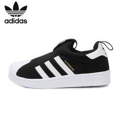 Adidas Superstar Original Kinder Atmungsaktive Laufschuhe Kinder Licht Bequeme Sport Turnschuhe # S32130