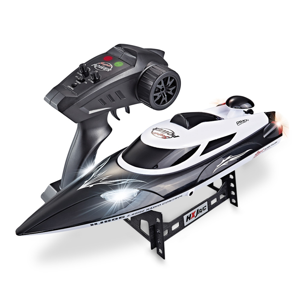 HJ806 2.4G High Speed Remote Control Boat RC Boat 35km/h 200m Control Distance Fast Ship With Cooling Water SystemHJ806 2.4G High Speed Remote Control Boat RC Boat 35km/h 200m Control Distance Fast Ship With Cooling Water System