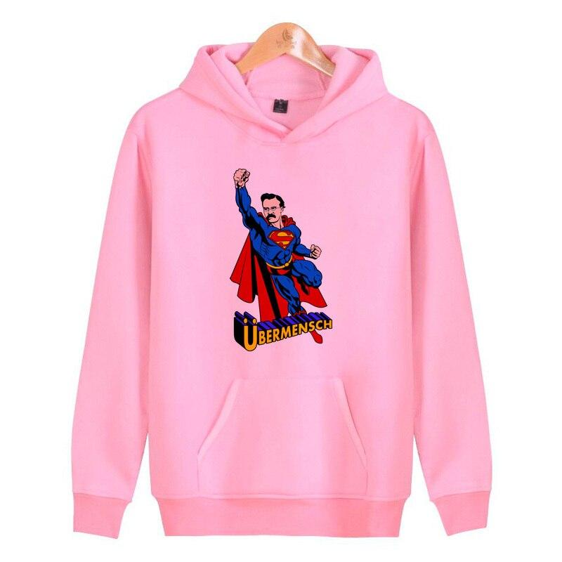 Nietzsche Hoodies Sweatshirts Streetwear Pullover Hoddies Hop Hip Male Men/women Homme Harajuku J1981