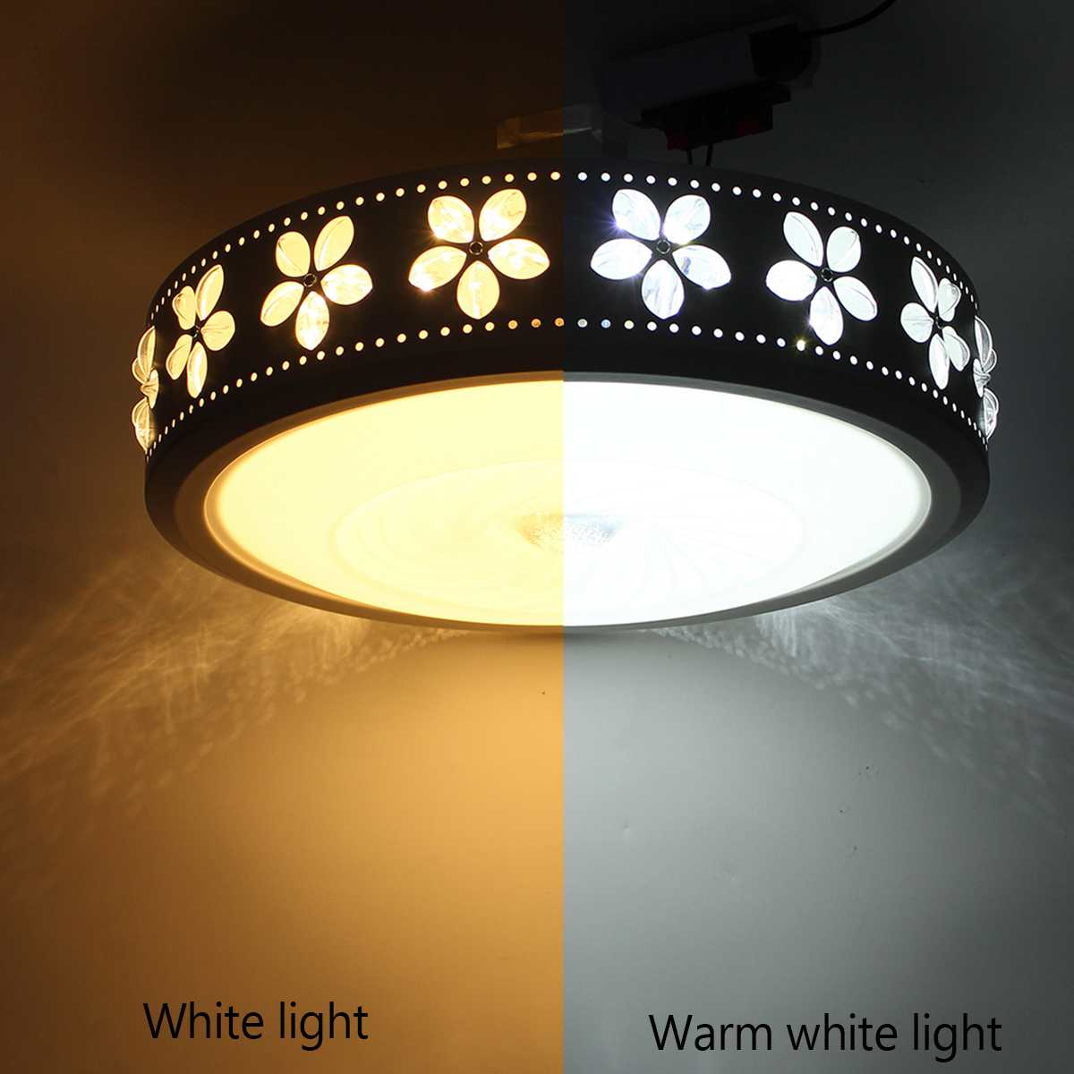 Enthusiastic 24w Round Led Ceiling Lights Modern Flush Mounted Led Ceiling Lamp For Living Room Bedroom Decoration Fixtures Lighting Elegant In Smell Ceiling Lights Lights & Lighting