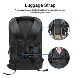Image 2 - WIWU Laptop Backpack 15.6 15.4 inch Multi function USB Charging Causal Waterproof Backpacks Large Capacity Laptop Backpack Women