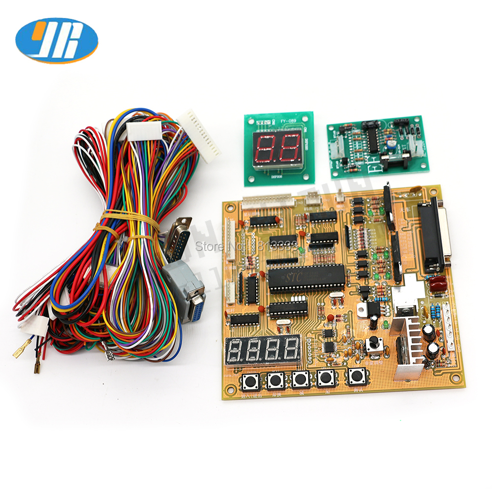 Cheap price Claw Crane Machine PCB English set voice Arcade Motherboard Slot Game Board With Displays