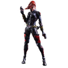 Marvel Legends PA China New Black Widow 27 centímetros Pvc Filme Figuras de Ação Avengers Movable Modelo endgame Colecionável Boneca Figma presente(China)