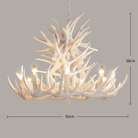 SETTEMBRE Chandelier Light Antique Brass Color Modern decoration Lamp Iron Free LED Bulb Lights