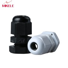 Hot Sale 10PCS PG7 Black Or White Plastic Connector Waterproof Cable Glands Ip68 China