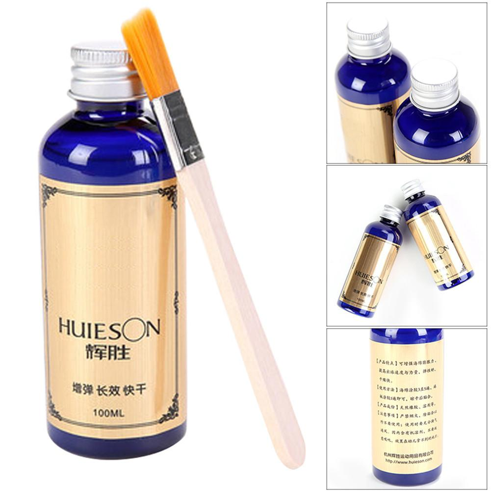 100ml Professional Speed Liquid Super With Special Brush Pingpong Racket Rubbers Table Tennis Glue For School Office Accessories(China)