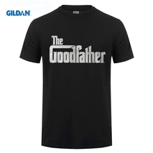 GILDAN The Goodfather T-Shirt Fathers Day Gift Present Funny Spoof Parody Top Tee 3D Men Hot Cheap Short Sleeve Male T Shirt