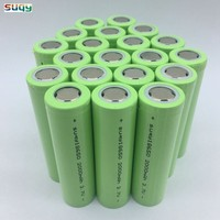 Suqy 100% 18650 2000mah 3.7v 18650 Battery Li Ion Rechargeable Batteries 18650 Rechargeable Batterie Avec Chargeur