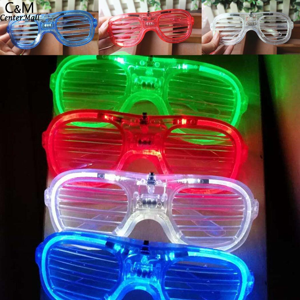 Kids Party Eye Glass Toys LED Flashing Shutter 15cm6inch Glasses Children Above 3 Years Toys Random