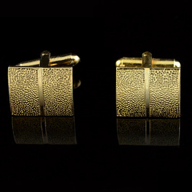 Gold Plating Tie Clip and Cufflink  1
