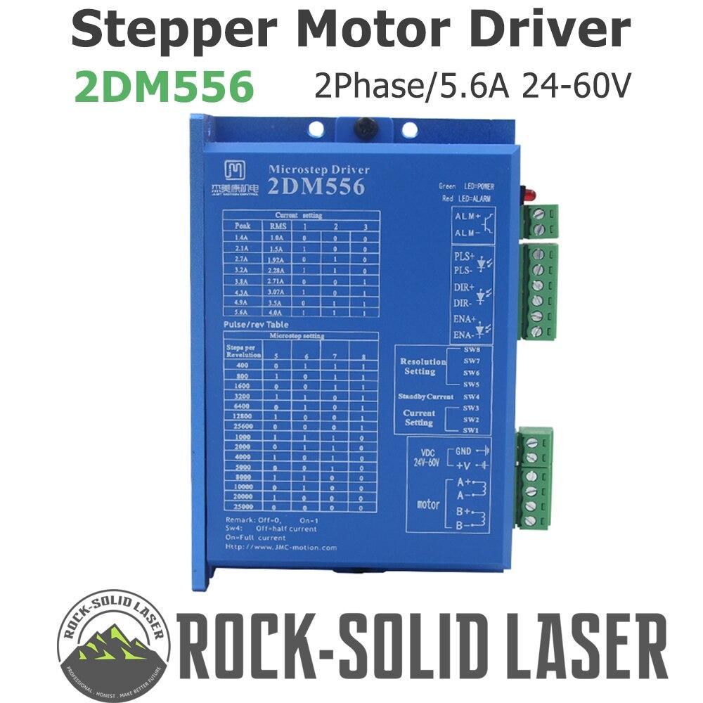 2DM556 2 phase NEMA23 stepper motor driver 32bit DSP DC36V 5.6A JMC replace leadshine DM556 Stepper Motor Driver