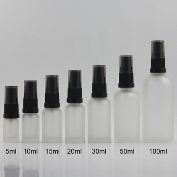 cosmetic pump bottle 5ml refillable bottle mini sample 5ml serum bottle travel tool in stock
