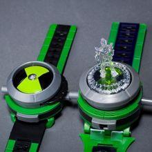 Бен 10 Ultimate Omnitrix часы Стиль детская проецирующие часы Япония натуральная Ben10 часы игрушка наручные часы