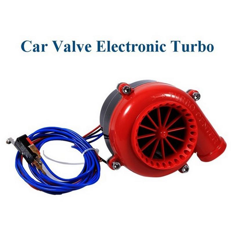 Car Electronic Fake Dump Turbo Blow Off Hooter Valve Analog Sound Simulator Kit Universal Auto Parts