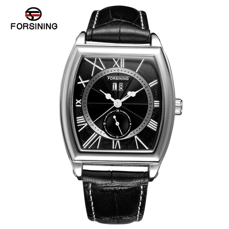 Forsining Date Month Display Rose Gold Case Mens Watches Roman Numerals  Automatic Watch Montre Homme Clock Men Casual WatchForsining Date Month Display Rose Gold Case Mens Watches Roman Numerals  Automatic Watch Montre Homme Clock Men Casual Watch