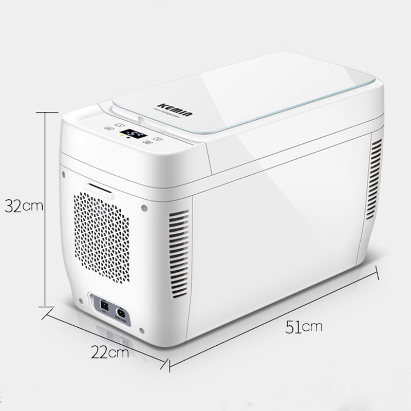 Image 5 - 11L Mini Home Car Use Dual core Refrigerators Portable Low Noise Car Refrigerators Freezer Cooling Box Fridge DC 12V 220V-in Refrigerators from Automobiles & Motorcycles