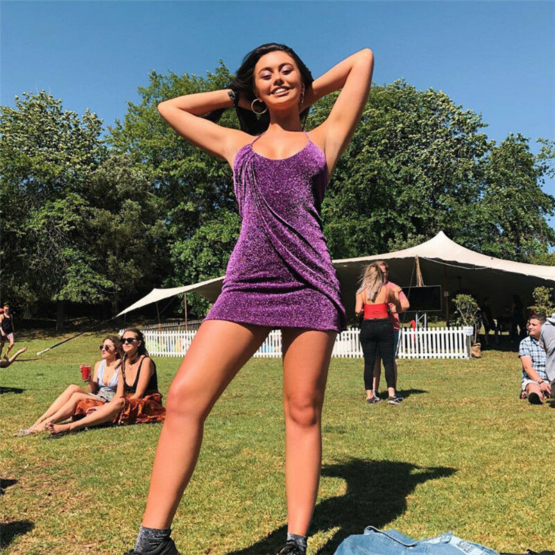 Новое модное сексуальное женское мини-платье с блестками блестящее женское вечернее платье стрейч облегающее платье