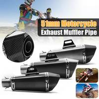 Stainelss Steel Exhaust Pipe 36 51mm for Motorcycle Motorbike ATV Motorcycle Exhaust Muffler SC GP Escape Exhaust Mufflers
