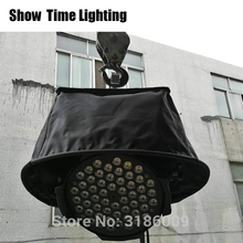 Hot sales 10pcs/lot LED PAR Rain Cover Stage Light compact Rain Coat Waterproof Covers use in the rain or snow crystal singing in the rain 3 khao yai