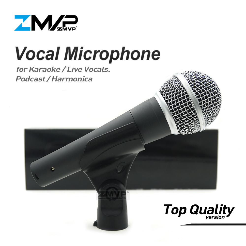 Top Quality Version S 58 LC Professional Live Vocals Karaoke Wired Microphone 58LC Podcast Microfone Mic with Real Transformer heat live broadcast sound card professional bm 700 condenser mic with webcam package karaoke microphone
