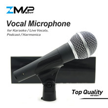 Top Kwaliteit Versie SM58LC Real Transformator Binnen Professionele Live Zang Karaoke Bedrade Microfoon 58LC Podcast Microfoon Mic(China)