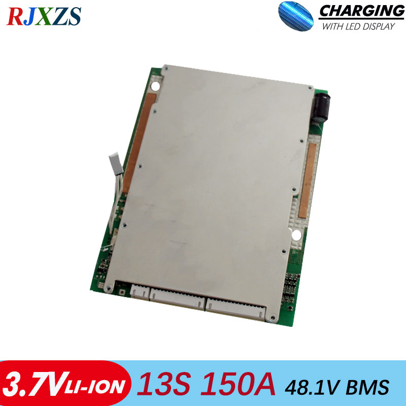 13S 150A bms 120A 100A new Li ion 48V large high current BMS PCM for electric