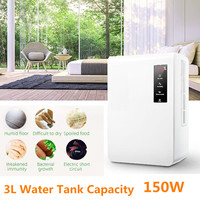 AX3 3L 150W Dehumidifier Home Dehumidifier Mute Bedroom Basement Moisture in Home Kitchen Bathroom Basement Absorption Dryer