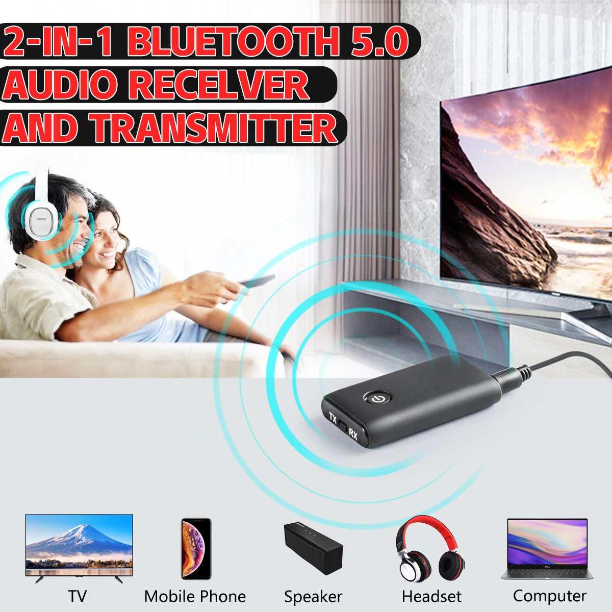 Funkadapter 2 In 1 5 V Drahtlose Bluetooth Sender Empfänger Adapter Stereo Audio Musik Adapter Mit Usb Lade Kabel 3,5mm Audio Kabel Ausreichende Versorgung