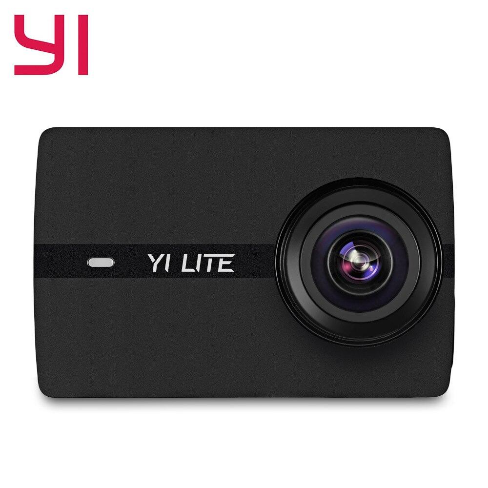 YI 16MP 4 K HD Sports caméras d'action 150 degrés grand Angle Sport Mini caméra avec 2.0 ''écran tactile WiFi Bluetooth App Cantrol